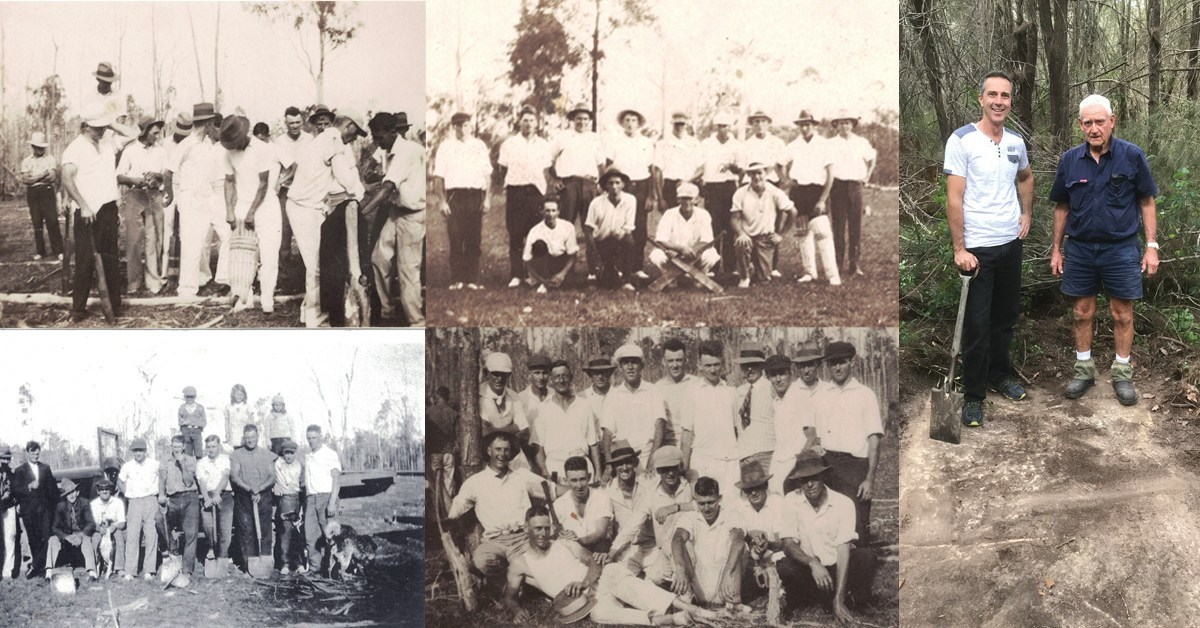 Historical Park Ridge Cricket Pitch Rediscovered