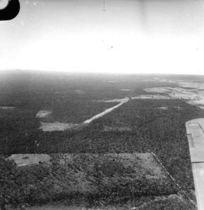 1942 RAAF Airstrip in Park Ridge